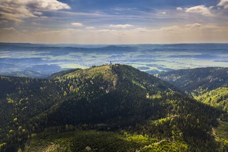 Ruprechticky Spicak Mountain in Sudetes