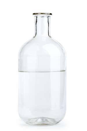 empty bottle isolated on white background Archivio Fotografico