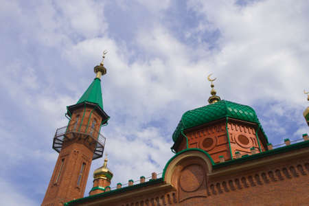 The red mosque in Tomsk Imagens