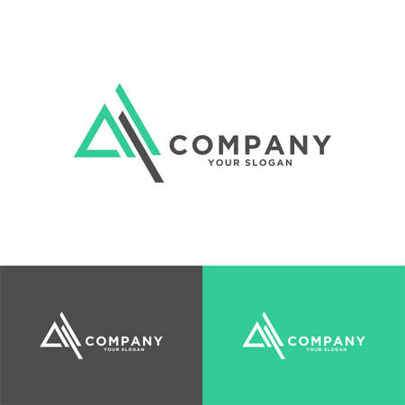 triangle or letter for business