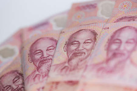 cash flows: Vietnam Money Stock Photo