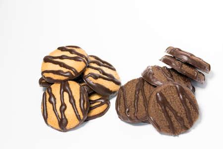 galleta de chocolate: galleta de chocolate Foto de archivo