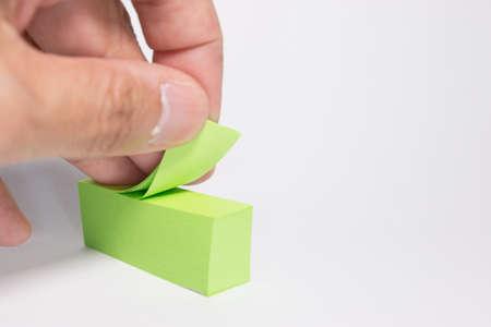 notepaper: notepaper sticker
