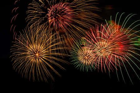 Fireworks display Imagens
