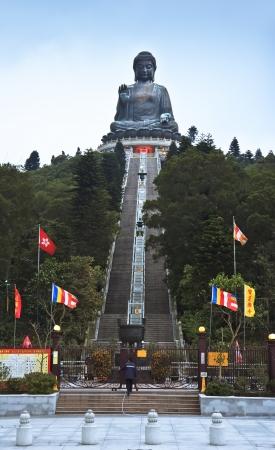 Giant Buddha in Lantau Island, Hong Kong