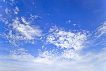Blue Sky over Sea Trang in Thailand Stock Photo - 17273694