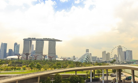 Landmarks of Singapore Editorial