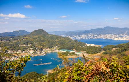 99 islands in Sasebo, Nagasaki, Japan. Editorial