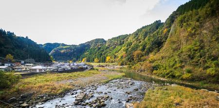 KYUSHU, Fukuoka, JAPAN -NOVEMBER 11,2015 : Nature in the city of Fukuoka , on November 11, 2015 at KYUSHU, Fukuoka, Japan
