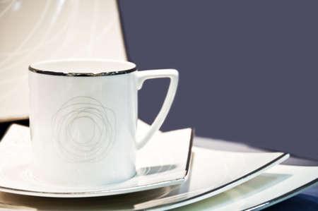 Close-up to an cup arrangement  photo