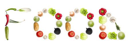 leguminosas: Palabra de alimentos de diferente tipo de verduras