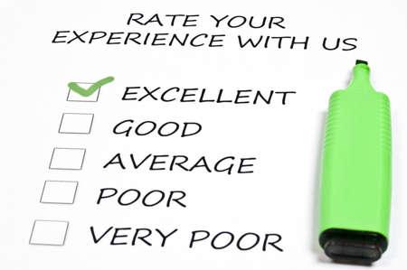 evaluacion: Excelente calificaci�n y marcador de pluma