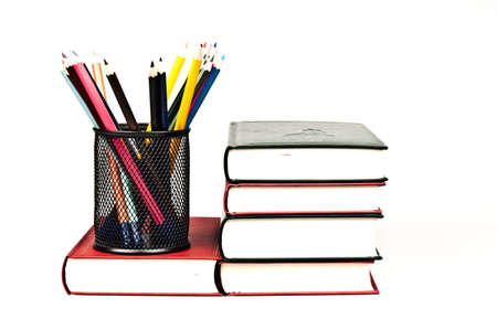Group of different colorful pencils Stock Photo - 9220889