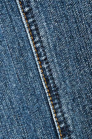 Blue jeans texture close up photo