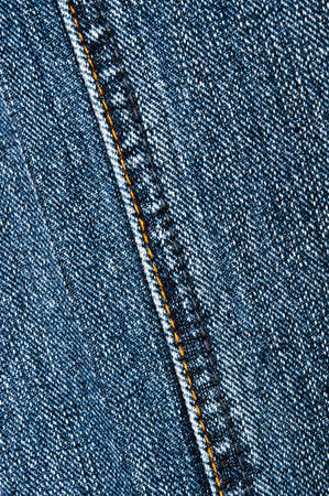 Blue jeans texture close up photo