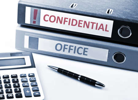 Confidential write on folder and office tools