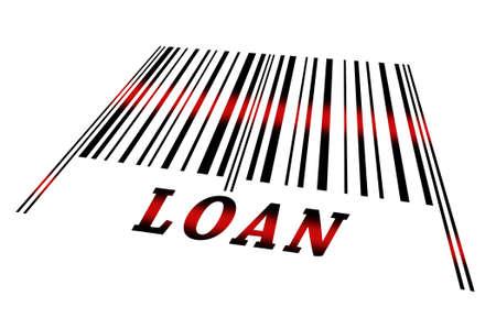 identifier: Loan word on barcode scanned