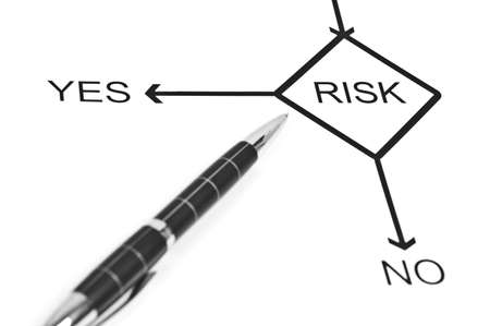Yes or No to choose Risk photo