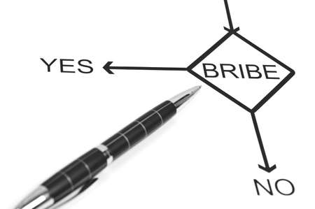 Yes or No to choose Bribe photo