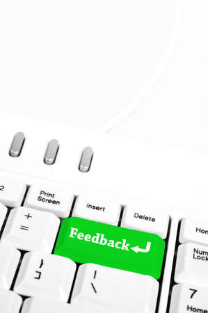 Feedback in place of enter key Stock Photo - 10063430