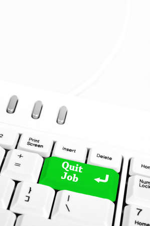 Quit job in place of enter key photo