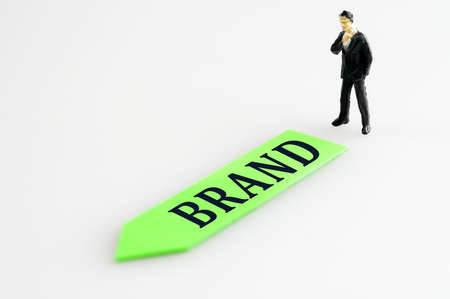 Brand direction and toy business man Stock Photo - 11615314