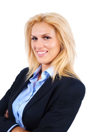 Young business woman Stock Photo - 15474519