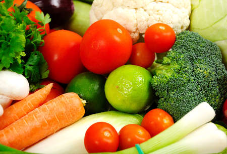 Group of fresh different vegetables Stock Photo - 18362595