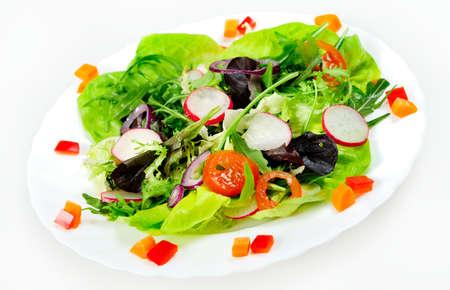 Salad plate photo