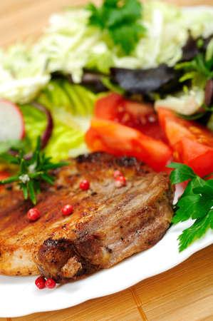 Food plate Stock Photo - 18383501