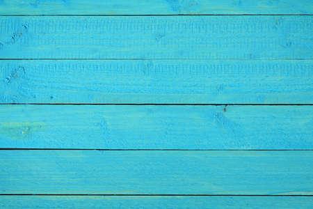 azul turqueza: Vacío azul de fondo mesa de madera Foto de archivo