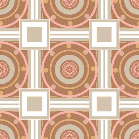 archetype: Seamless ornamental pattern decoration elements texture, tile design background