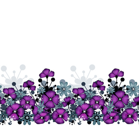 Pattern of purple poppies and flowers on white background stock pattern of purple poppies and flowers on white background stock photo 44126641 mightylinksfo