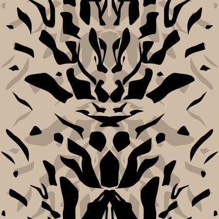 instinct: Tiger wild skin leather seamless pattern background