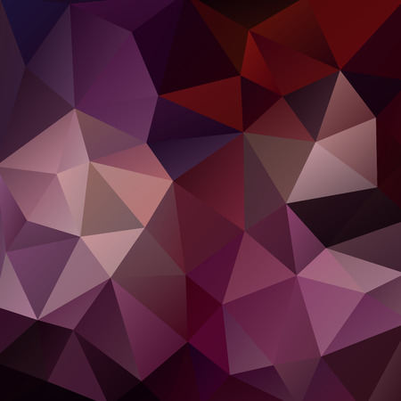 low scale: Abstract vector mosaic background of triangles polygonal wallpaper. Web design in bright colors, creative business design templates Illustration