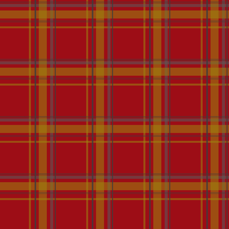 plaid pattern: Seamless retro red checkered plaid pattern background