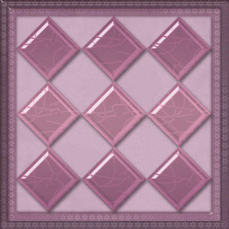 cary: Geometrical elements pattern tile design background glass effect