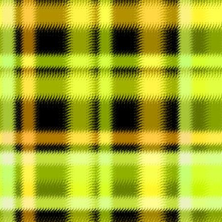 madras: Textured soft tartan plaid. Seamless bright pattern checkered print