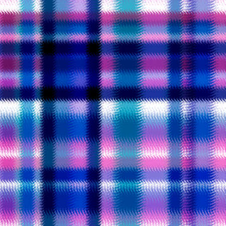 clan: Textured soft tartan plaid. Seamless bright pattern checkered print