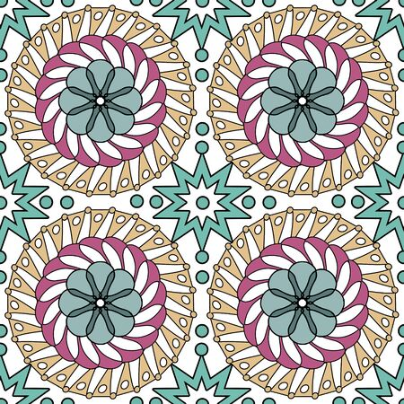 motive: Seamless pattern ethnic style background. Vintage decorative texture for wallpapers, backgrounds and page fill. Indian, Arabic motive