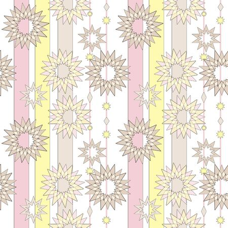 fairyland: Seamless pastel retro abstract star background. Textile and wallpaper star background. Elements for your design.