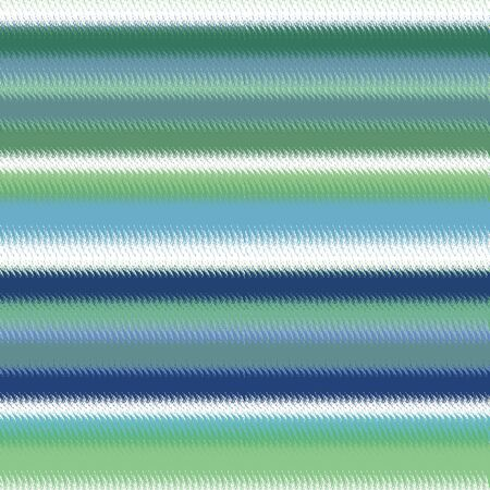 Lines pattern seamless background in bright blue green white colors Stock Photo