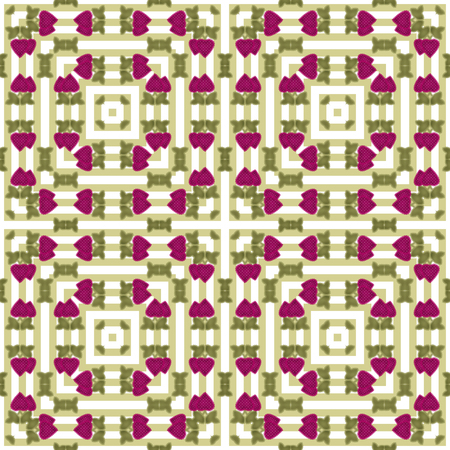 patchwork pattern: Patchwork strawberry seamless geometrical pattern white background Stock Photo