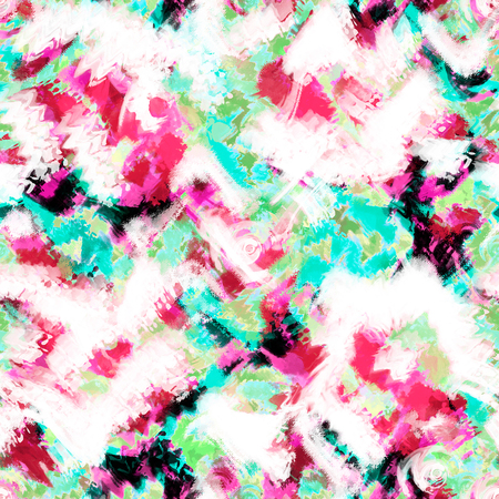 アート スプラッシュ ブラシ ストロークは、抽象的なシームレス パターン印刷背景をペイントします。