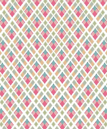 Plaid checkered tartan print illustration