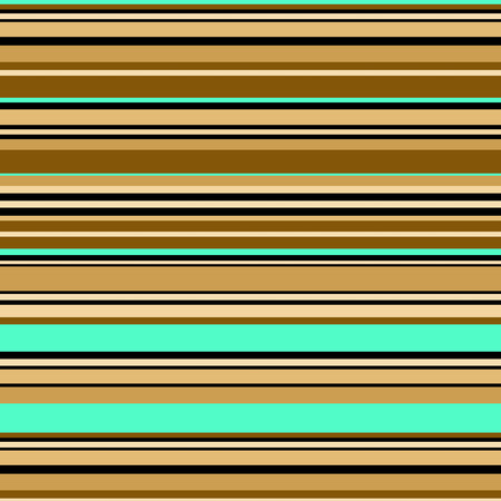 Lined horizontal retro seamless pattern in retro color Banco de Imagens