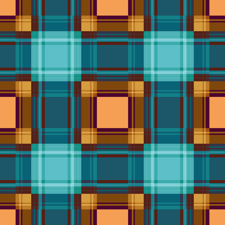 Seamless checkered plaid pattern background