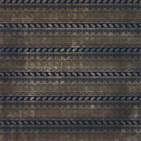 Grunge ornamental pattern vintage design retro