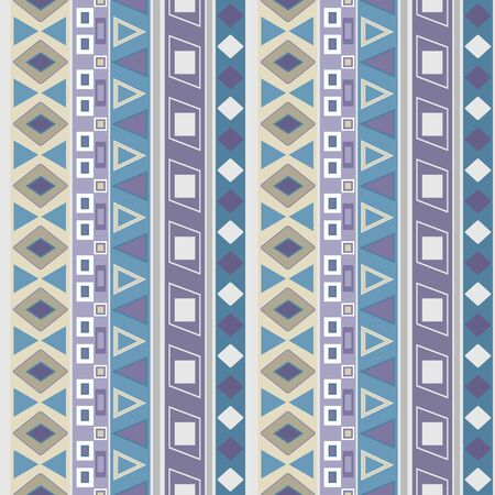 Abstrfact seamless folk ethno retro pattern background Stock Photo