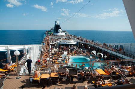 open higher bridges of MSC ship Orchestra